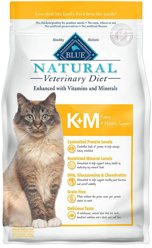 Blue Buffalo Natural Veterinary Diet Kidney + Mobility Support l