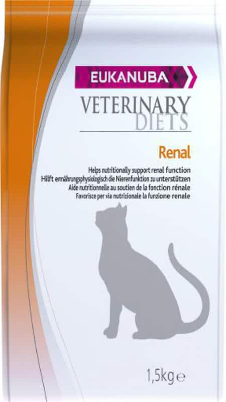 Eukanuba Cat Veterinary Diet Renal Formula low protein cat food