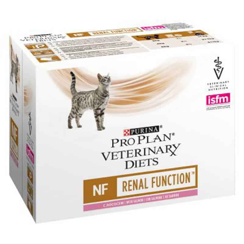 Purina Pro Plan Renal Function low protein cat food pack
