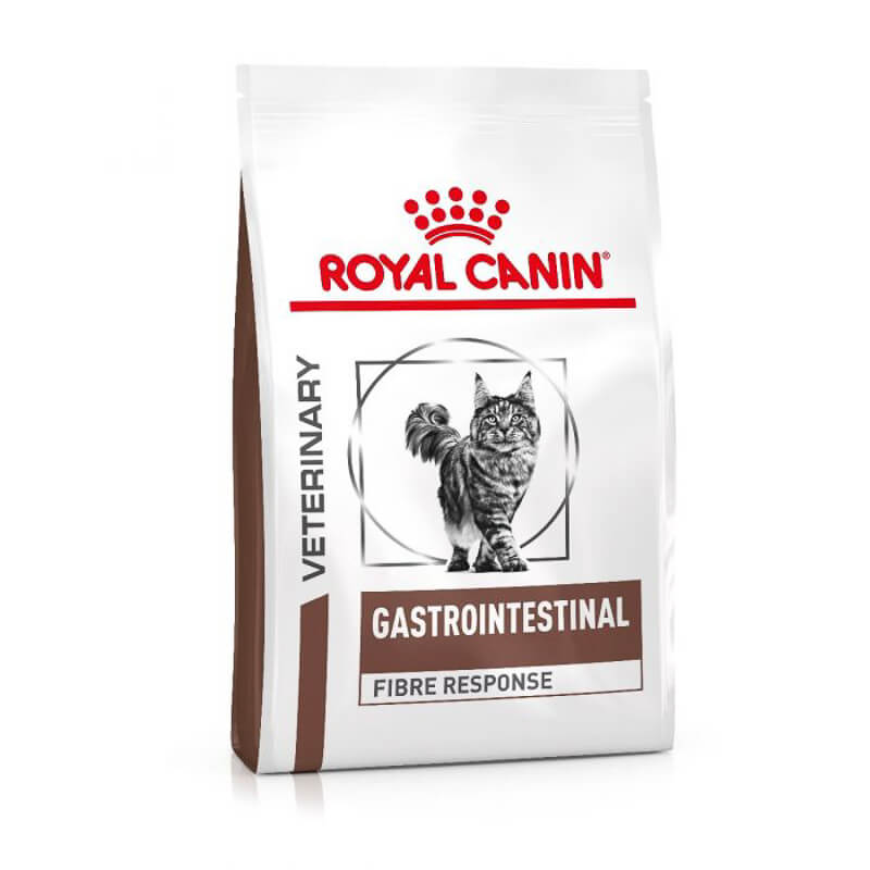 ROYAL CANIN HIGH FIBER cat food bag
