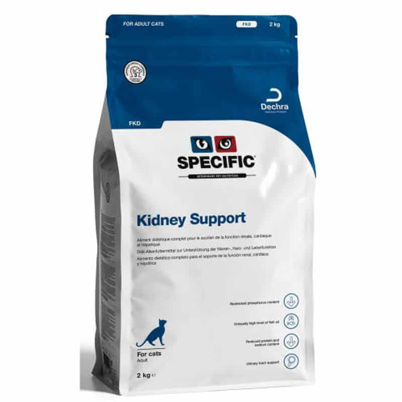 Specific (VetXX) FKD & FKW Kidney Support Cat Food pack