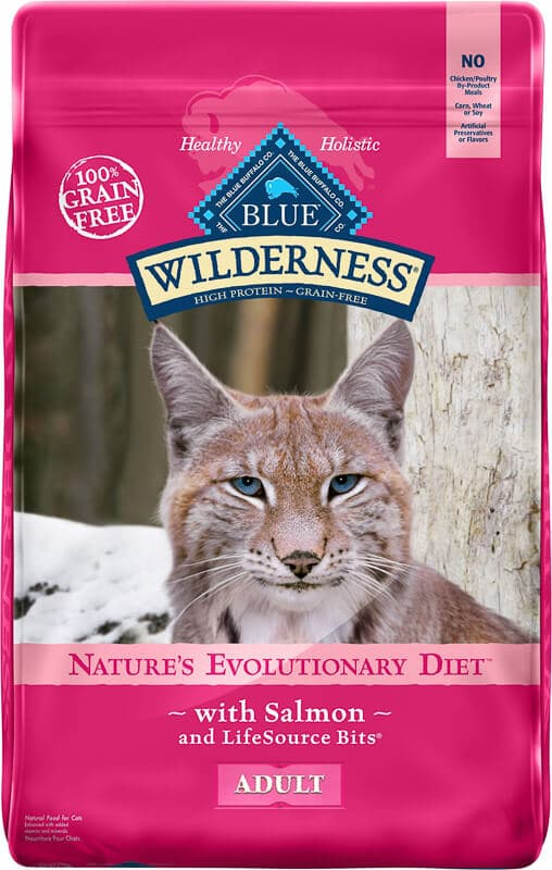 blue wilderness cat food with salmon