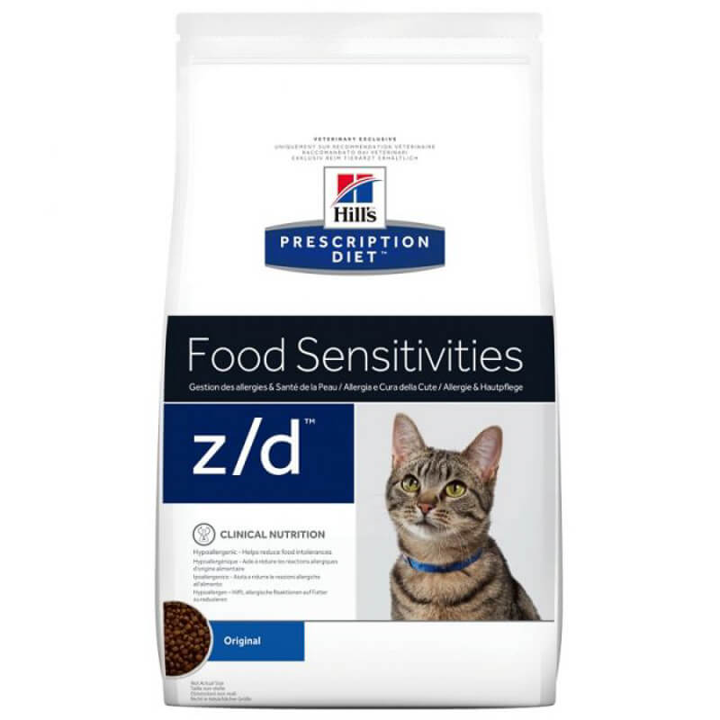 hills cat food for cats with ibd food sensitivities