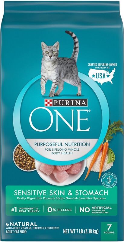 purina one sensitive stomach pack