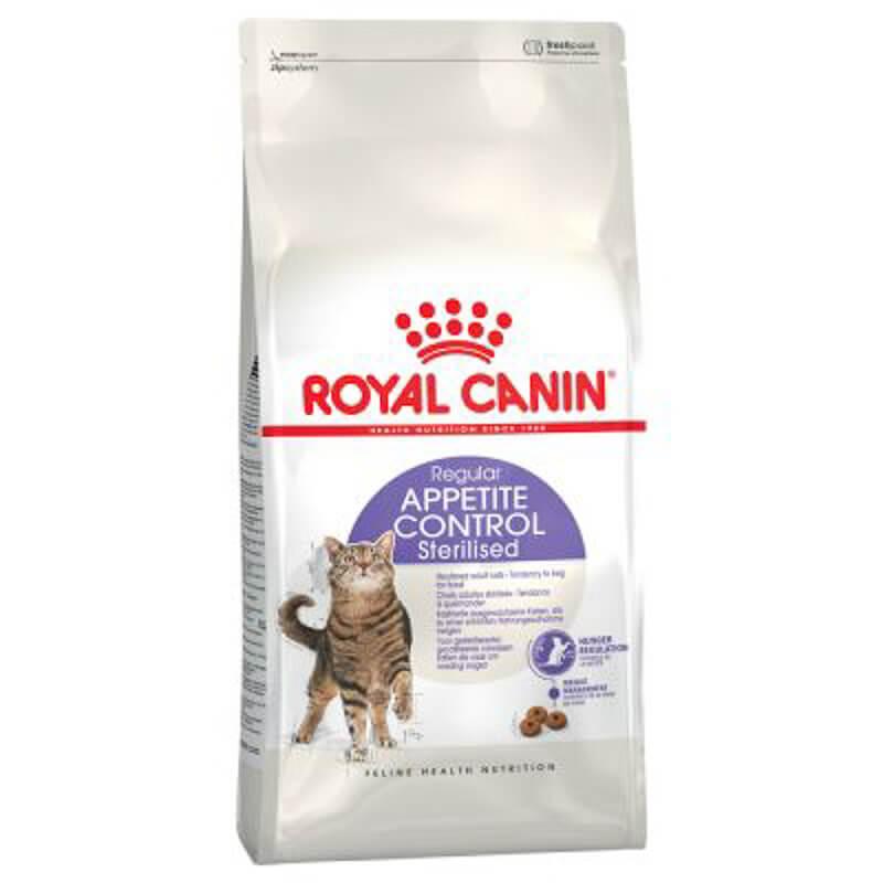royal canin sterilised cat food appetite control
