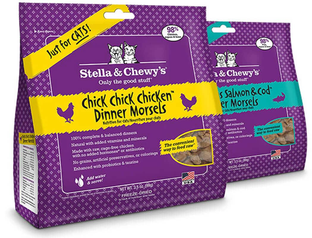 stella and chewy's cat food packs