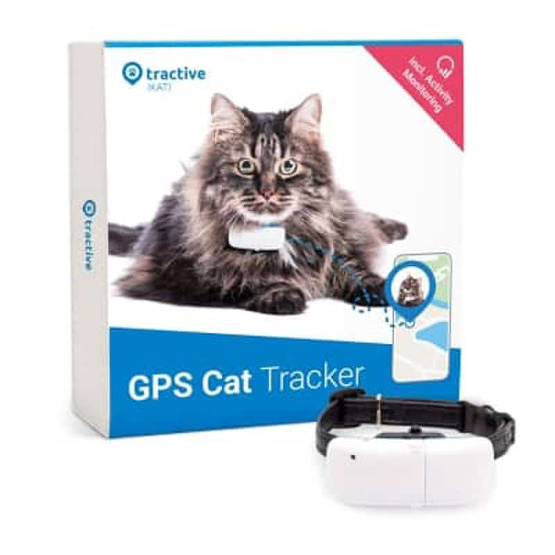 Tractive GPS cat collar packaging