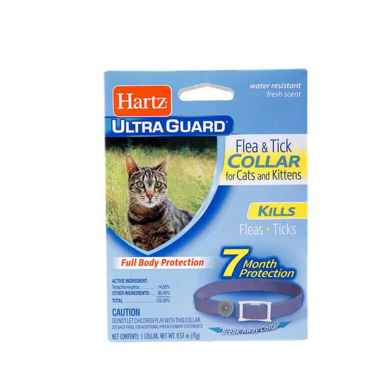 hartz flea collar one of the best flea collars for cats