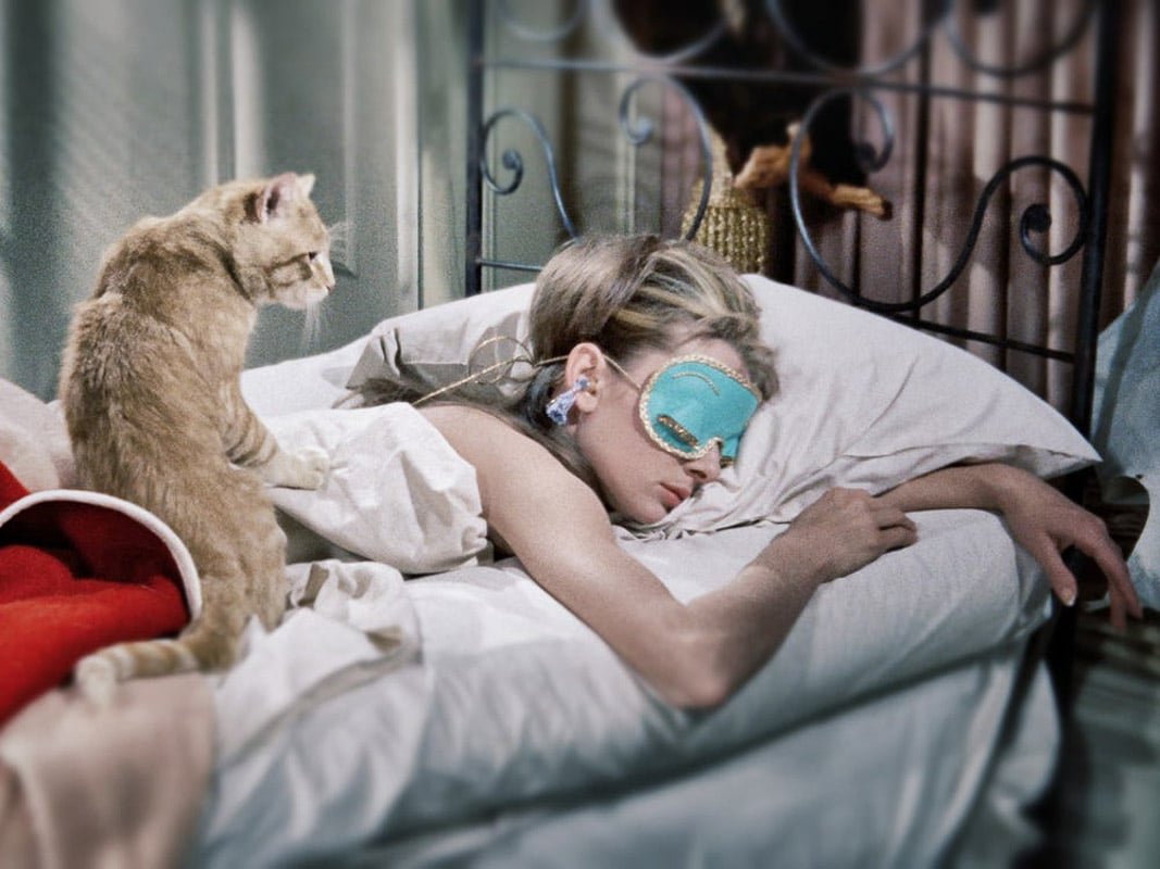Cat in Breakfast at Tiffanys Source Paramount