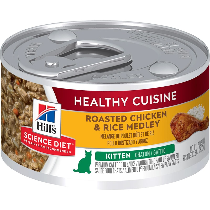 hills science diet kitten wet food