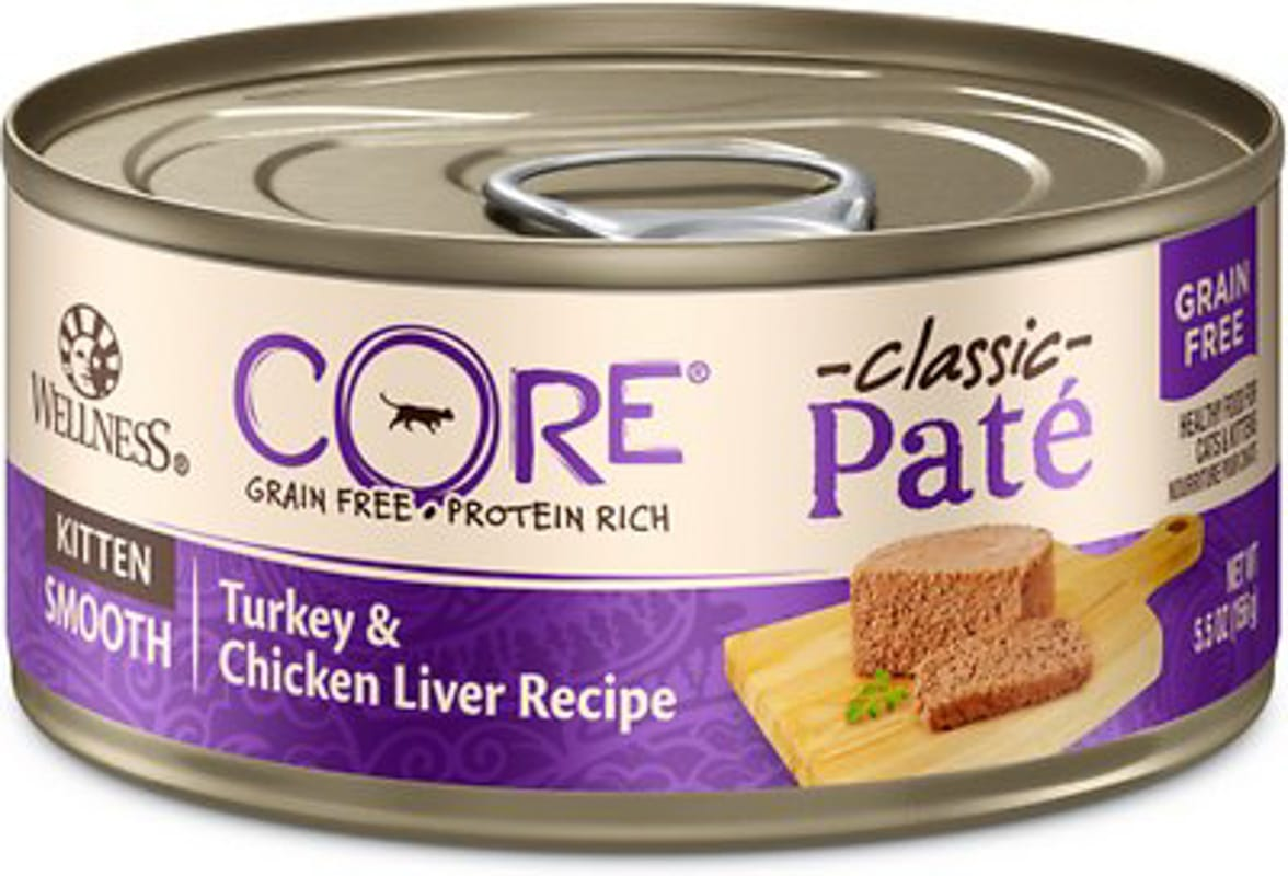 wellness core kitten wet food