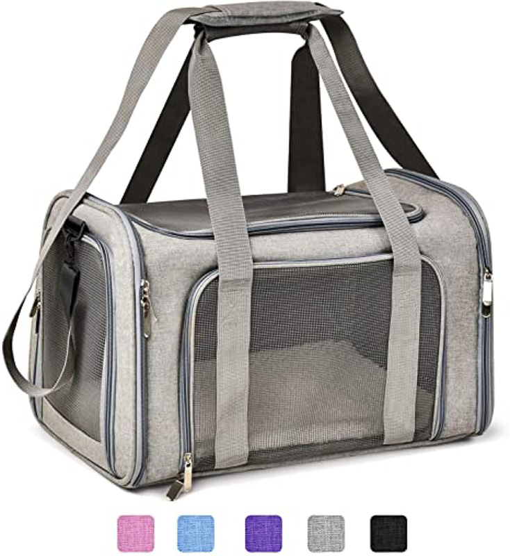 Henkelion Soft-Sided Collapsible Pet Carrier
