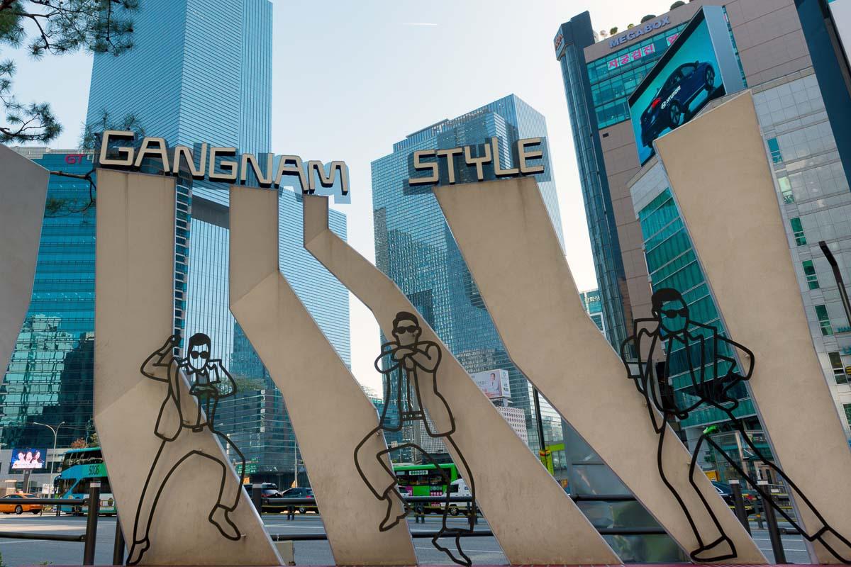 Gangnam Square South Korea