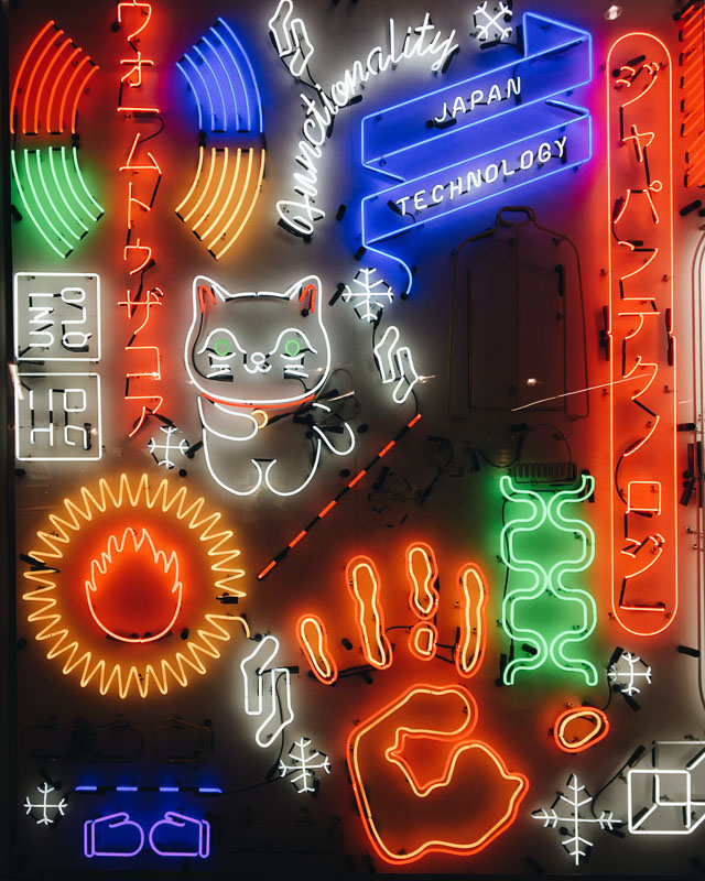 japanese cat neon signs